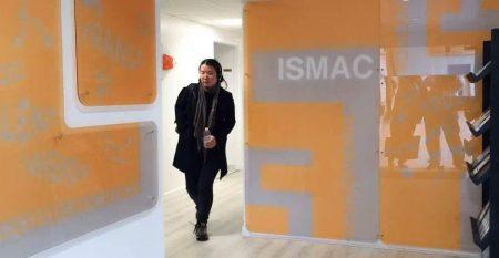 Entrée de l'Ismac