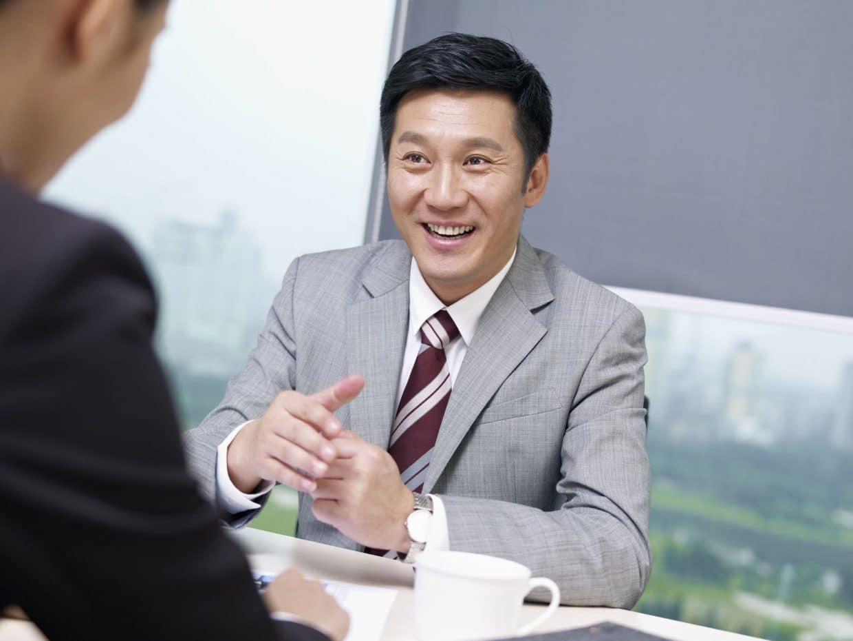 entretien de recrutement en asie