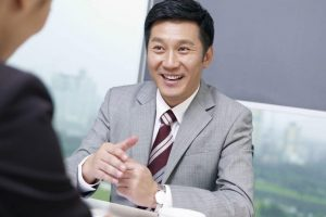 19399818 – asian business people discussing business in office